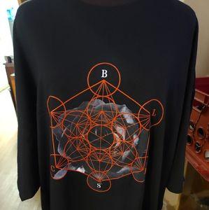 NWOT Blvck Scvle Alchemy Circle Symbols Tee RARE